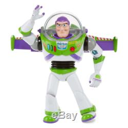 12 Disney Toy Story 4 Buzz Lightyear Talking Action Figure Disney Store NEW