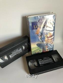 1995 WALT DISNEY's THE LION KING Masterpiece Collection VHS Tape 2977 & Simba