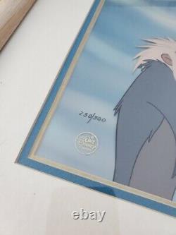 1996 Lion King Disney Art Edition Animation Cel Circle of Life Mufasa Rafiki