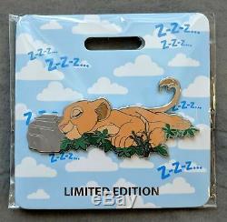 2019 Disney D23 Expo WDI MOG The Lion King Nala Cat Nap Jumbo Pin LE 300