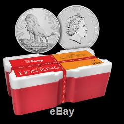 2019 Disney Lion King 1oz Silver Coin Monster Box ONLY 100 SEALED BOXES PRODUCED