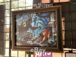2020 Disney Parks Exclusive Brett Owens LE Giclee Rafiki And Simba Lion King