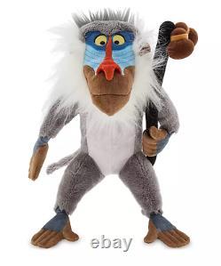 2020 Disney Store LION KING Scar Mufasa Pumbaa Timon Rafiki Simba Nala Plush Set