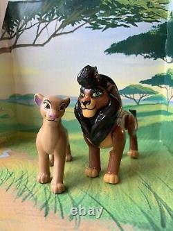 Adult Kovu & Kiara Custom Figures Lion King 2. Kovu Is Posable