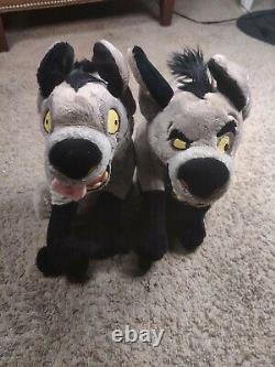 BANZAI & ED 15 Disney Store The Lion King Plush Stuffed Animal Hyena RARE
