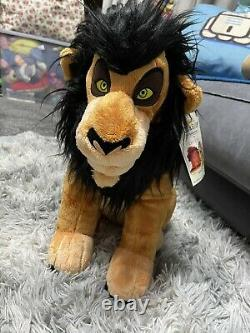 BNWT Build A Bear BAB Disney The Lion King Scar with Be Prepared Song