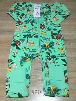 Bonds Disney Lion King Zippy Wondersuits Size 3 x 2 BNWT Free Express Post