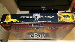 Boxed Rare Disney's Lion King Edition Sega Megadrive Console & Game Vintage snes