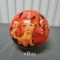 Brunswick Viz-A-Ball Disney The Lion King Undrilled Bowling Ball 8lb Limited
