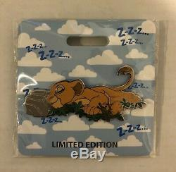 D23 2019 MOG Nala Lion King Cat Nap LE 300 Disney Pin WDI Brand New