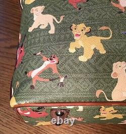 DISNEY DOONEY & BOURKE THE LION KING TOTE Shoulder Bag