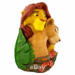 Disney 20th Animal Kingdom Lion King Simba and Nala Figurine Statue New with Box