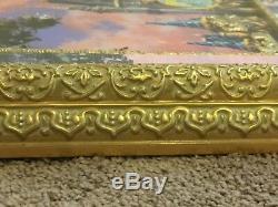 Disney 50th Cinderella Castle Peter Pan Lion King Alice Framed LE 100 Pin Set