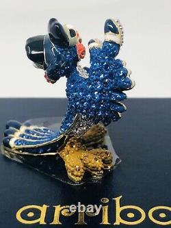 Disney Arribas Brothers Lion Kings Zazu With Swarovski Crystals Figurine