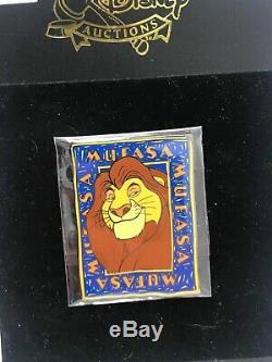 Disney Auctions Mufasa LE 100 Pin Lion King Character Set #2 Simba Nala Sarabi