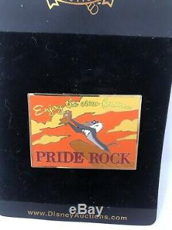 Disney Auctions Rafiki at Pride Rock Postcard LE 100 Pin The Lion King
