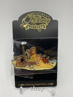 Disney Auctions The Lion King New Classics LE 100 Pin Simba Nala Mufasa Sarabi