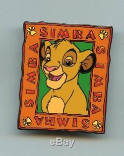 Disney Auctions The Lion King Young Simba Name Series LE 100 Pin