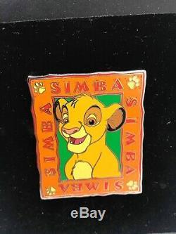 Disney Auctions Young Simba LE 100 Pin Lion King Characters Set #1 Nala Mufasa