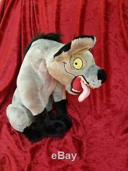 Disney Banzai, Shenzi, and Ed Hyena 3 Plush set, THE LION KING NEW with TAGS