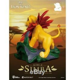 Disney Beast Kingdom The Lion King Le Roi Lion Master Craft Little Simba