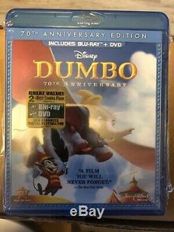 Disney Blu-ray DVD RARE Lenticular Covers 8 Movies Lion King, Sleeping Beauty