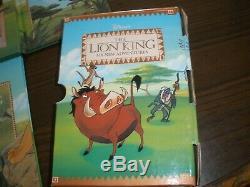 Disney Boxed Set The Lion King Six New Adventures Grolier 1994 Rare Books