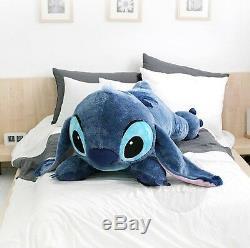 Disney Character Lying STITCH Cushion Jumbo, Giant Size Doll 120cm (47.2 inch)