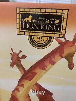 Disney D23 Lion King 25th Anniversary Simba And Nala Figurine LE650 New