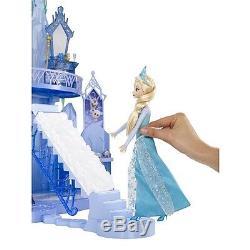 Disney Die Eiskönigin Frozen Elsa Anna Kristoff Olaf Eispalast Schloß Mattel