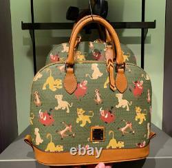 Disney Dooney & Bourke Lion King Zip Satchel crossbody purse