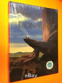 Disney Finch Rebello ART OF Lion King Hunchback Pocahontas Large Original SEALED