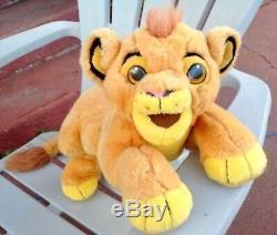 Disney Jemini France Lion King Simba Pride Plush Soft Toy Pyjama Pajama Case Bag