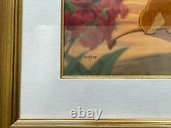 Disney Limited Edition Cel Lion King First Love /500