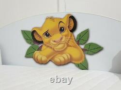 Disney Lion King Kids Bed Frame 70x140 + wall shelf