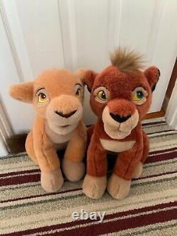 Disney Lion King Kovu and Kiara plush