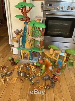 Disney Lion King/Lion Guard Training Lair Playset And Figures Bundle Rare