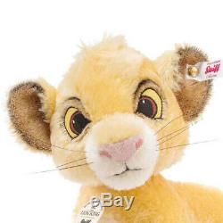 Disney Lion King Simba EAN 355363 From the Steiff Collection