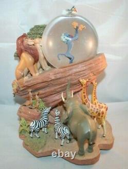 Disney Lion King Simba Pride Circle Of Life Musical SnowGlobe WORKS No Box