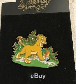 Disney Lion King Simba Zazu Pin Le 100