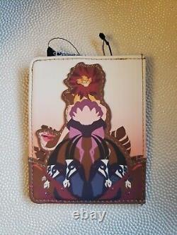 Disney Loungefly The Lion King Mini Backpack & Cardholder Simba NEW
