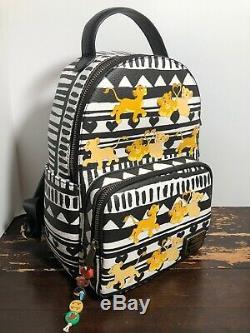Disney Loungefly The Lion King Simba & Nala Mini Backpack Wallet Set NWT