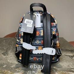 Disney Loungefly The Lion King Tribal Chibi Mini Backpack Bag Exclusive Grey