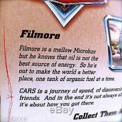 Disney PIXAR Cars FILLMORE aka FILMORE Error Card ORIGINAL DESERT ART SERIES