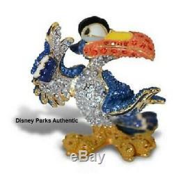Disney Parks Authentic The Lion King Zazu Figurine By Arribas Swarovski Htf