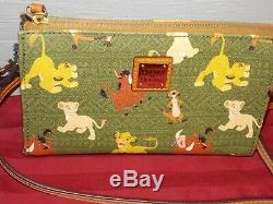 Disney Parks DOONEY & BOURKE The Lion King CROSSBODY BAG Simba Pumba