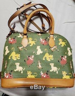 Disney Parks Dooney & Bourke The Lion King Simba Timon Pumba Satchel Bag