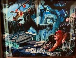 Disney Parks Exclusive The Lion King Rafiki & Simba Framed Giclee by Brett Owens