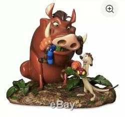 Disney Parks Exclusive The Lion King's Timon And Pumbaa Medium Figure New