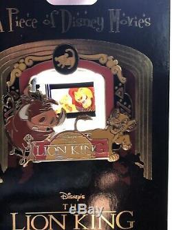 Disney Parks LION KING LE 2000 A PIECE Of MOVIES Pin Sarafini Simba Nala NEW